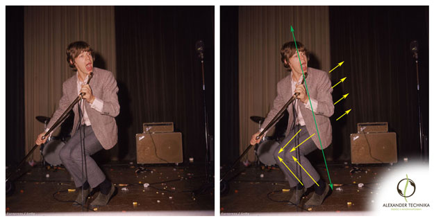 Mick Jagger 1960-ban könnyedén mozog éneklés közben is
