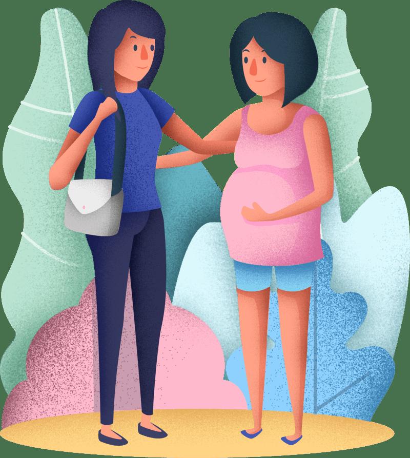 várandós anyuka