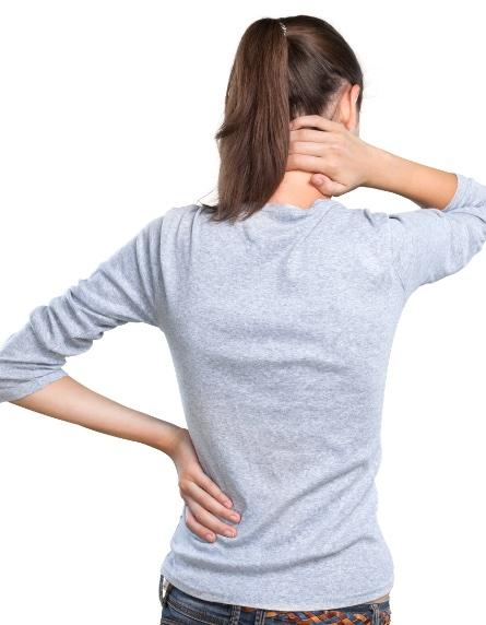 Hanyagtartás okozta nyakfájdalomban szenved